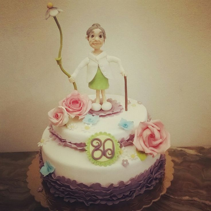 80 years old cake
