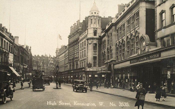 High Street Kensington, 1929