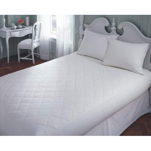 Twin Extra Long 20-Inch Cotton Mattress Pad - (In No Image Available)