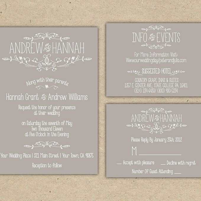 16 Things To Know About Printable Wedding Invitations