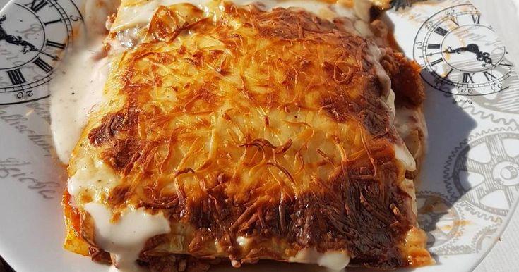Fabulosa receta para Lasaña de carne súper rica.