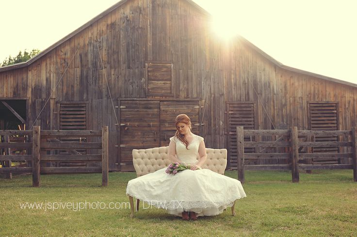 Rustic Bridal Portraits. Outdoor Photo Ideas. Dallas, Fort Worth Texas