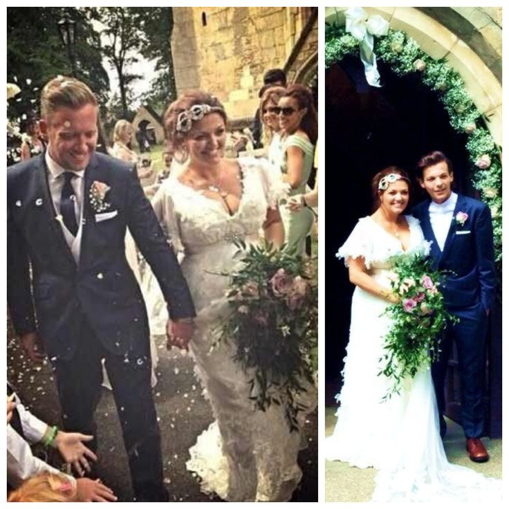 One Direction's Louis Tomlinson's mom Johannah Poulston marries Dan Deakin 2014
