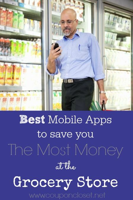 Check out these BEST Money Saving Apps to help you save at the grocery store without ever clipping a coupon.