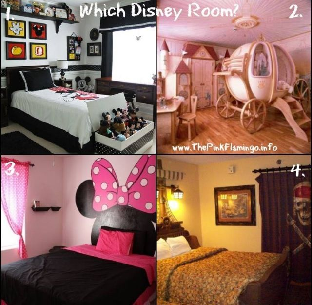 Which Disney Themed Room Would You Put In Your Orlando