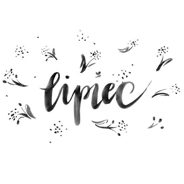 It's the linden tree month 🌳🍃 Lipiec   July #linden #limetree #flower #july - #lettering #typography #ink #brush #polish #lipiec