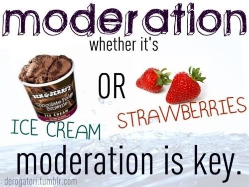 Moderation!! Does nobody get this anymore?!?!