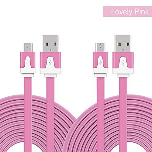 Foolly 2-Pack 6ft USB 2.0 Cable Flat Fast Charge & Data S... http://www.amazon.com/dp/B01EJNFRUG/ref=cm_sw_r_pi_dp_3Qqsxb1J3PE2W