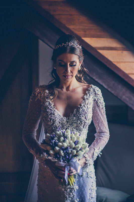 Look da noiva - Casamento ao ar livre - Foto: Franco Rossi