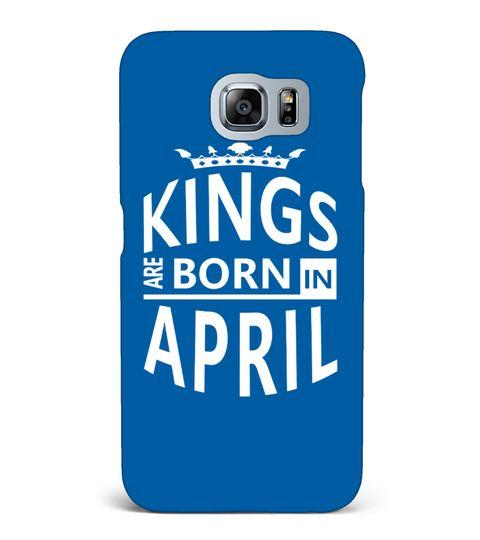 April Born King Cool Birthday Gift - T-shirt