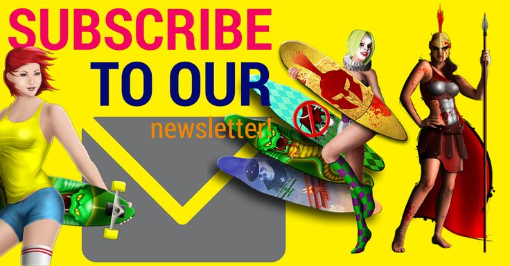 What better way to say, SUBSCRIBE NOW!!!   http://eepurl.com/bnR79r  #downhill #xtreme #extreme #sports #longboarding #newsletter #sign #up #humpday #mobile #video #games #mailchimp #racing #ios #app #android #amazon #spartan #skater #girl #harlequin