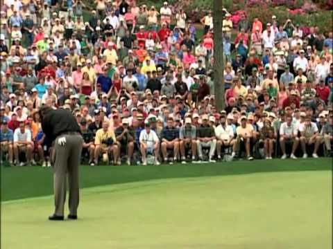 Phil Mickelson's first major win at the 2004 Masters