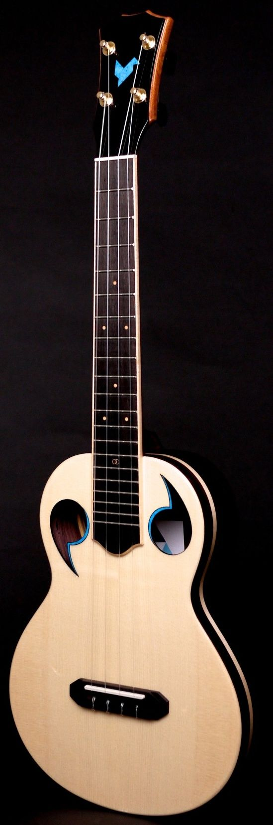 "The Rebel ""Quark"" Tenor Ukulele --- https://www.pinterest.com/lardyfatboy/"