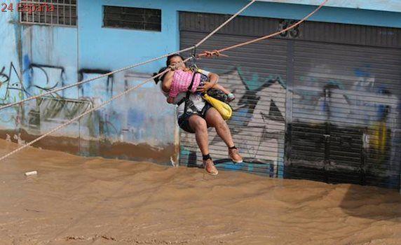 Los damnificados por las lluvias torrenciales en Perú superan las 60.000 personas
