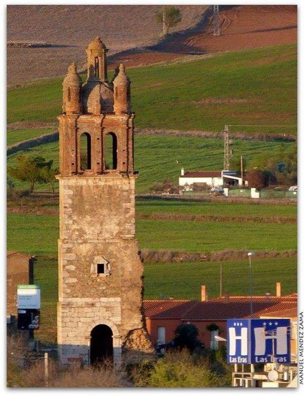 El único vestigio que queda del Convento de San Benito es su Torre, llamada curiosamente de San Francisco, siglos XVI y XVII.