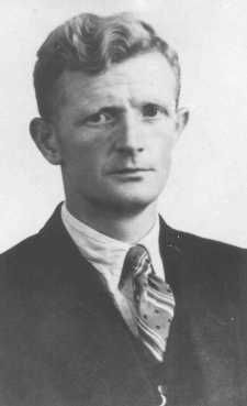"""Johannes Post organized a network of 250 people in Nieuwlande who smuggled Jews out of Amsterdam and found them shelter and identity papers. He was awarded the status of """"Righteous Among the Nations"""" in 1965. The Netherlands, date uncertain."""