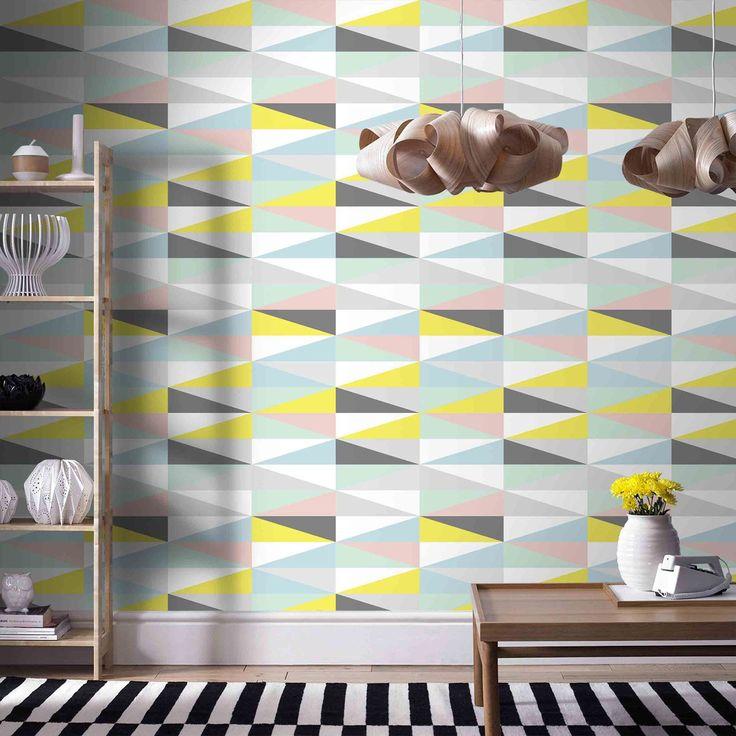papier peint pik multicolore chez leroy merlin 13 rouleau shopping papier peint. Black Bedroom Furniture Sets. Home Design Ideas