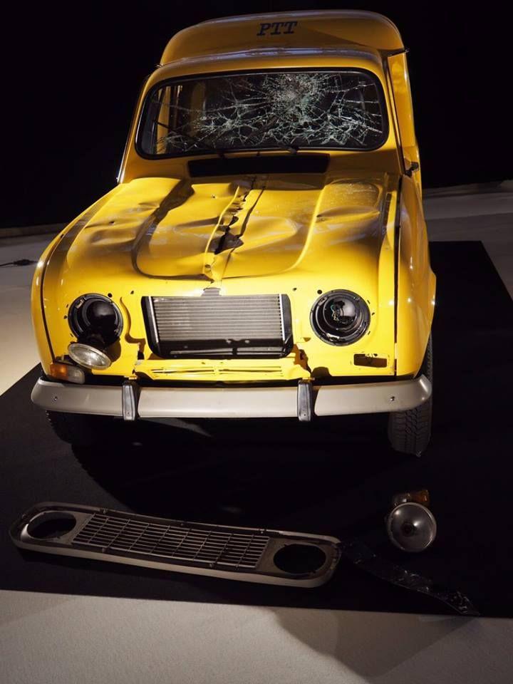 """L'exposition du Mondial de l'Automobile à ne pas manquer : """"Moteur ! L'automobile fait son cinéma"""".  RDV Hall 8 jusqu'au 16 Octobre !"""