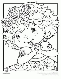 Free downloadable Strawberry Shortcake coloring pages (6) Plus Moxie Girlz Coloring Pages, Tinkerbell Coloring Pages, Snow White Coloring Pages, Hello Kitty Coloring Pages