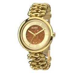 Relógio Euro Coleção Braceletes EUY121E4AA/4D - Dourado