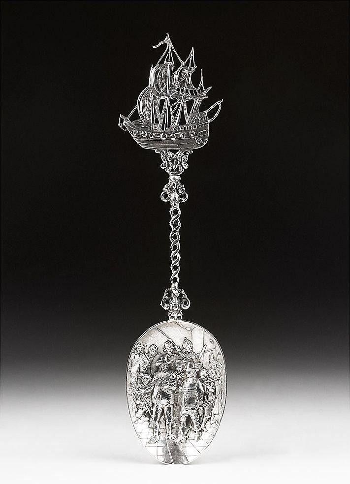 Антикварные столовые приборы из серебра 18-20 веков.  (53) Одноклассники