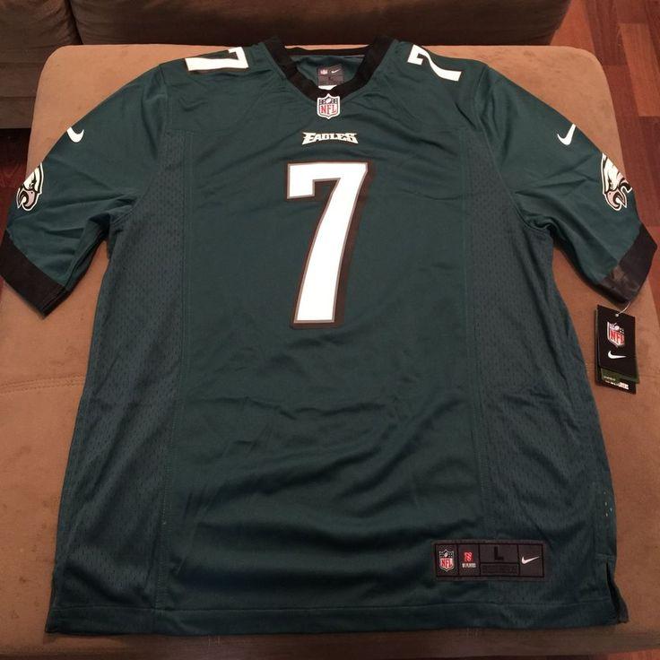 NFL Nike Philadelphia Eagles Michael Vick #7 Game Jersey Throwback 468971-343 XL #Nike #PhiladelphiaEagles