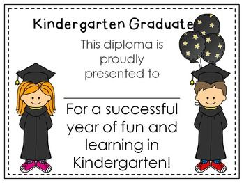 14 best kindergarten preschool graduation capsgowns tassels kindergarten or preschool graduation diploma editable freebie kidsrcute on tpt yadclub Images