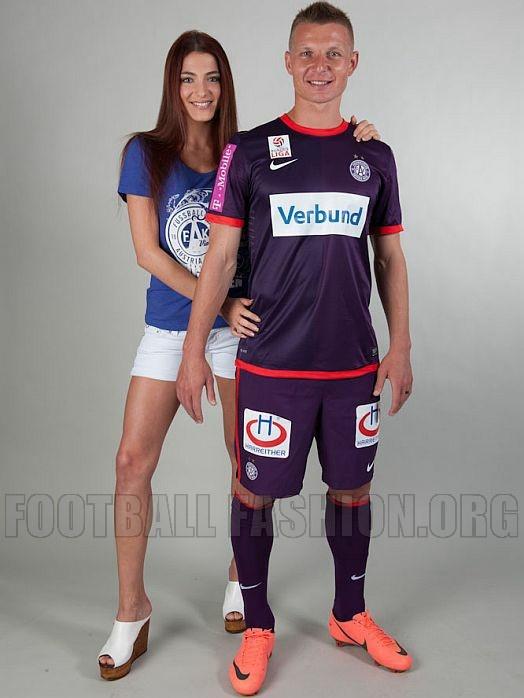 FK Austria Wien Nike 2012/13 Home Kit