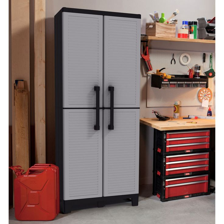 Awesome Tall Utility Storage Cabinet