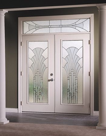 contemporary front door handles | Silhouettes Entry Doors - Four Seasons Home Products - Front Door