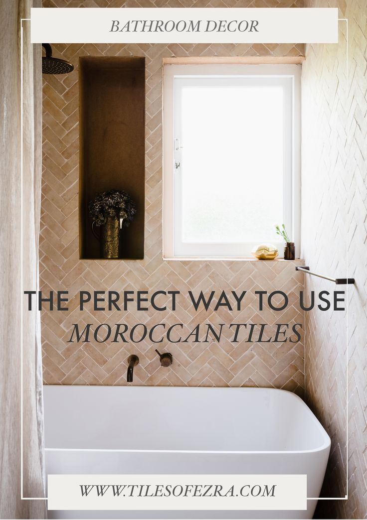the perfect way to use moroccan tiles out of bathroom ideas these decorative tiles create a beautiful moroccan decor that you can use in your next