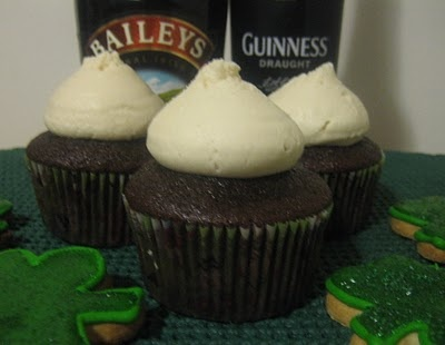 on st. patrick's day i plan to drink & eat these all day long