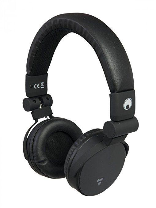OMNITRONIC SHP-i3 Stereo-Kopfhörer schwarz Stereokopfhörer Freisprecheinrichtung Musikweiterschaltung