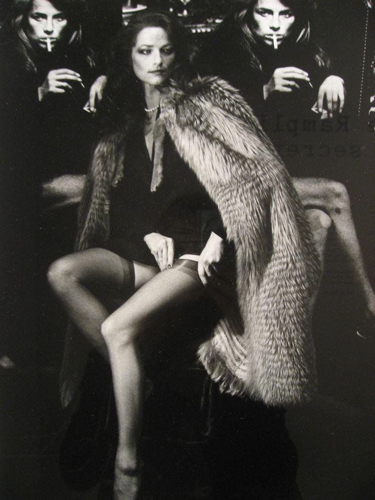 Charlotte Rampling, by Helmut Newton, Paris 1982