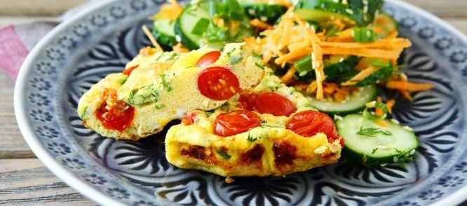 Fritatta Met Broccoli En Kerstomaatjes (Italiaanse Omelet) recept | Smulweb.nl