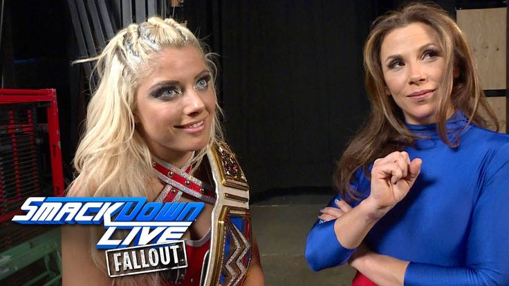 Alexa Bliss and Mickie James smirk at the competition: SmackDown LIVE Fallout, Jan. 17, 2017 - http://newsaxxess.com/alexa-bliss-and-mickie-james-smirk-at-the-competition-smackdown-live-fallout-jan-17-2017/