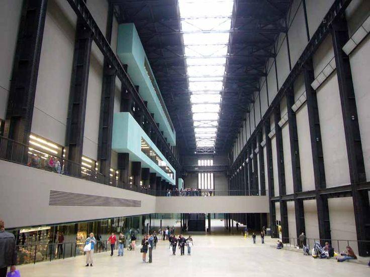 Tate Modern London  #architecture #demeuron #herzog Pinned by www.modlar.com