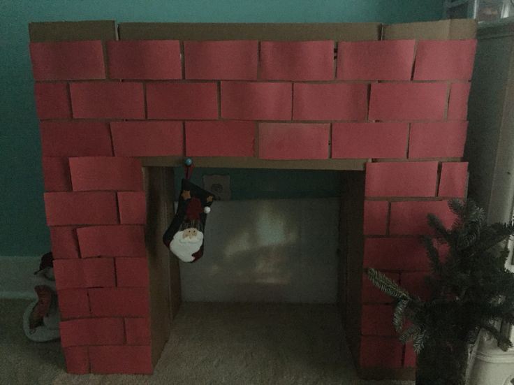 85 best cardboard things images on Pinterest | Home ideas, Cardboard fireplace and Christmas decor