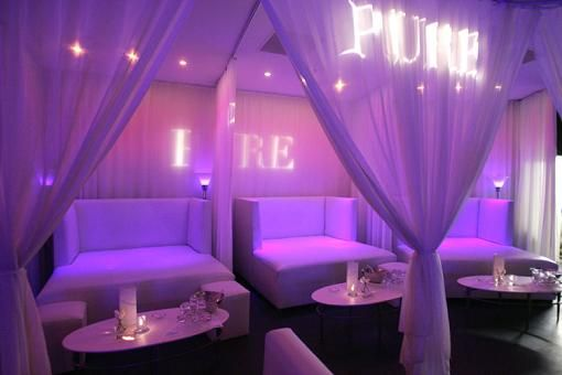 Pure Nightclub (Ceasers Hotel) One of the best nightclubs in Vegas! Even better when you have VIP tickets! Woot!