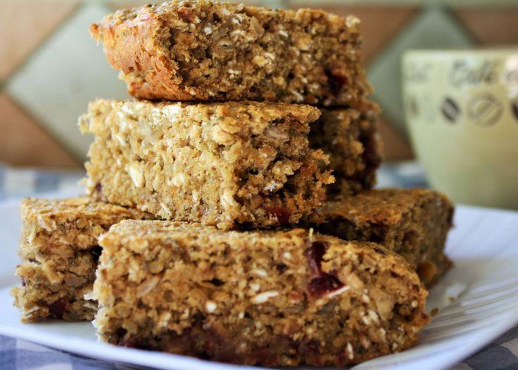 Barre-muffin protéinée au quinoa