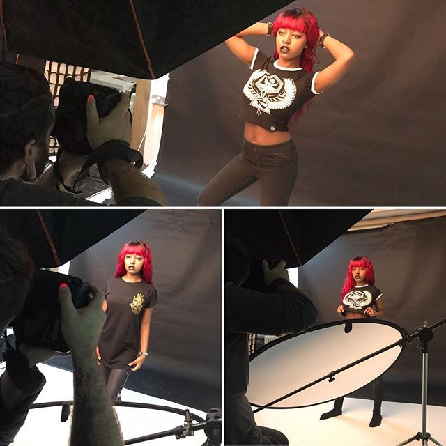 We had the pleasure of finally having long time Corvid model Yasmin Benoit visiting & shooting with us here in #Edinburgh 🖤 What a wee gem she was 👌 Images from the shoot with @adrianianmcnab coming soon ✌️ #scotland #photoshoot #bts #behindthescenes #blackmodel #blackchicksrock #alternativeblackgirl #altgirl #altwomen #altgirls #alternativegirl #alternativegirls #alt #altlife #alternative #womenswear #womensfashion #croptop #croppedtop #blackwear #iloveblack #blackclothes #leggings