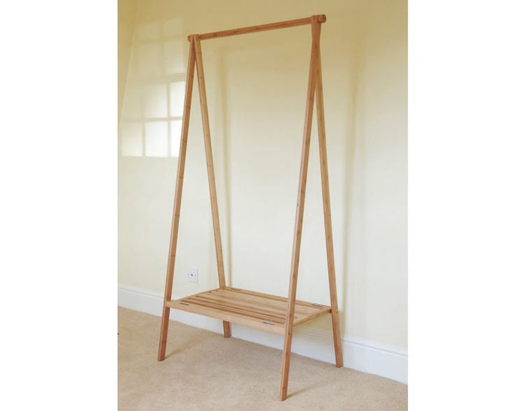 Bamboo Folding Wardrobe £49. The futon company