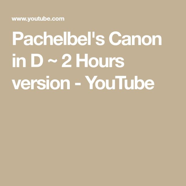 Canon In D Pachelbel Jazz Version For Piano Solo Sheet: Best 25+ Pachelbel's Canon Ideas On Pinterest