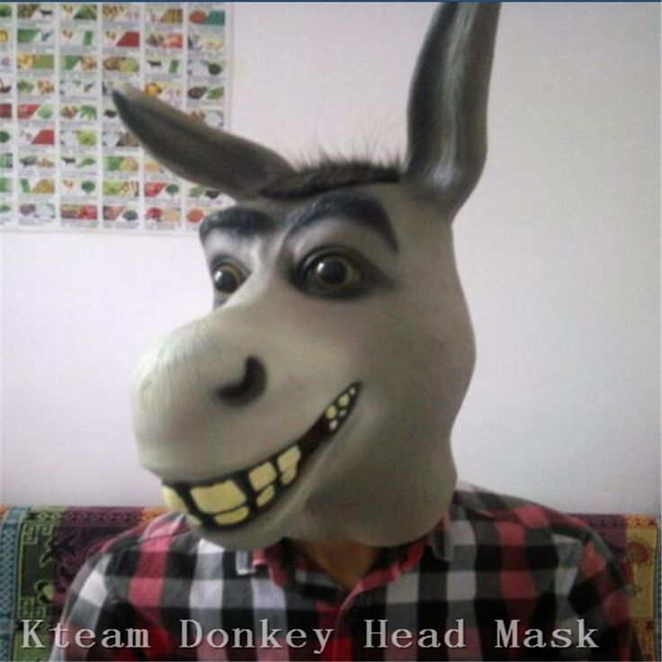 >> Click to Buy << Full Face Cosplay Funny Latex Donkey Mask Animal Masks Masquerade Adult Donkey Mask Halloween Props Costumes Fancy Dress Party #Affiliate