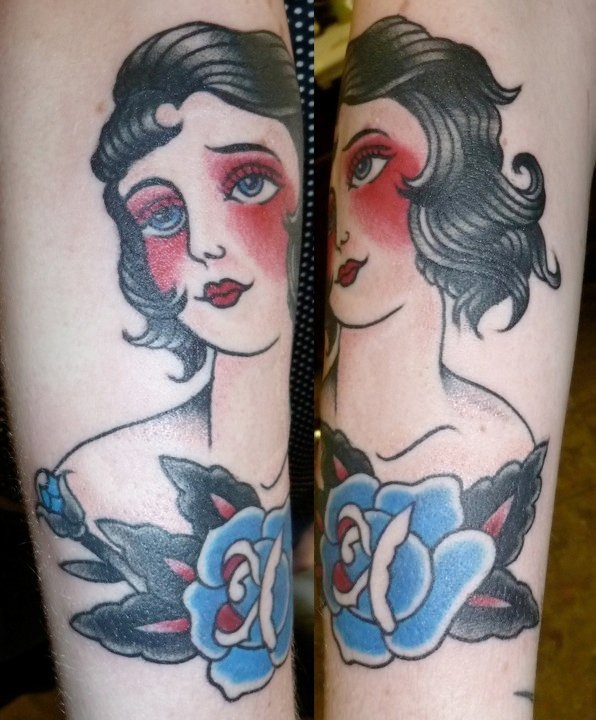 41 best images about tattoo traditional doll faces on for Tattoo school edmonton