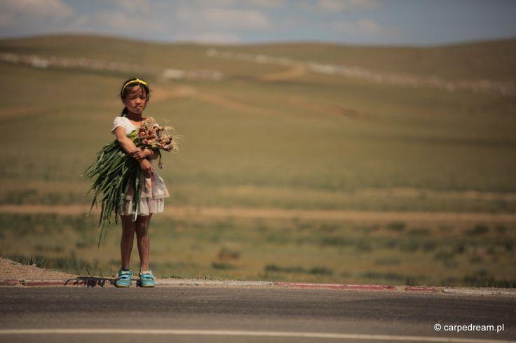 Mongolia girl.