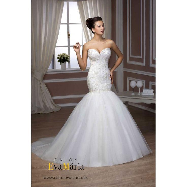 Biele svadobné šaty Marlin