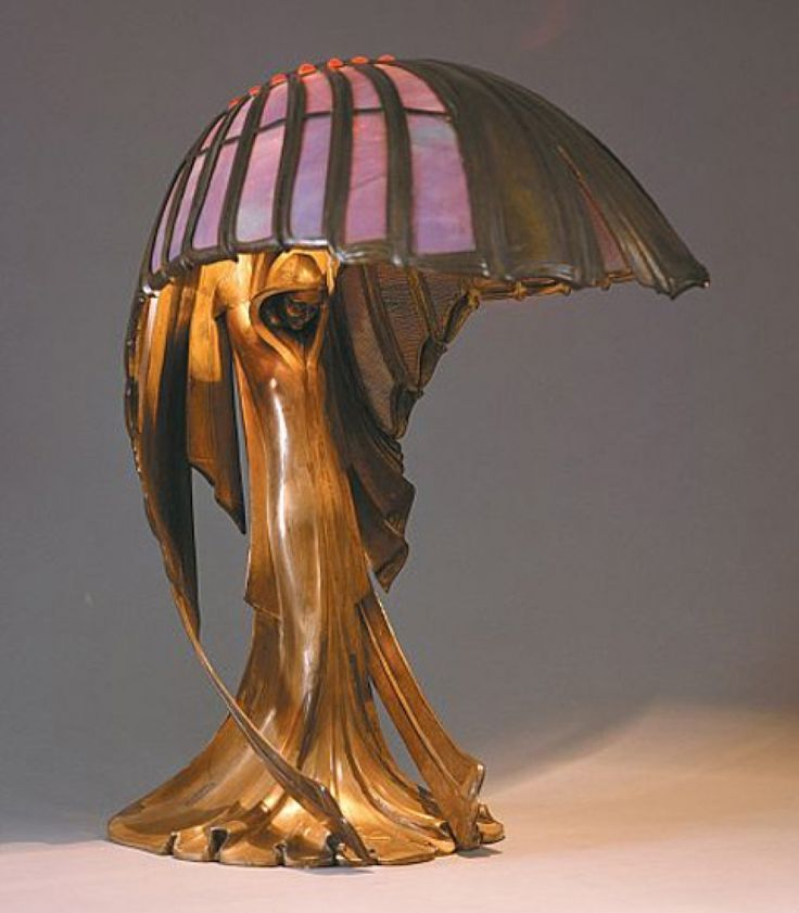 Great Art Nouveau Lamp