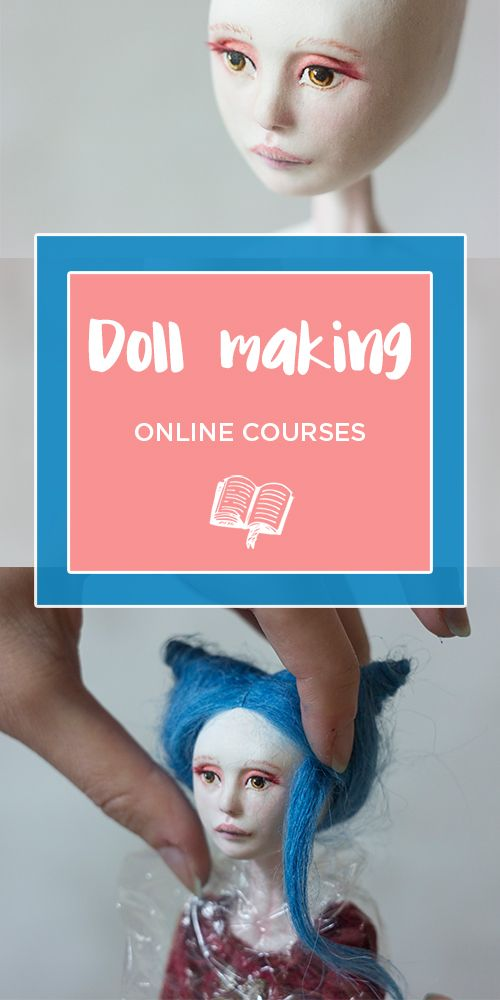Doll making classes, art dolls tutorial