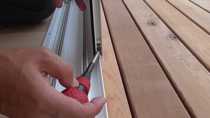 網戸の調整 隙間調整 マイホーム 注文住宅 健康住宅 自然素材の家